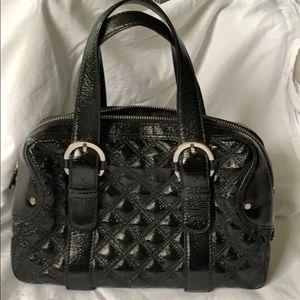 Michael Kors Patent Leather Satchel Handbag